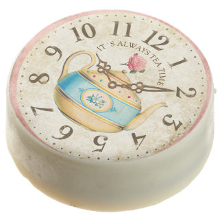 Vintage Clock Retirement, Bridal Tea Party Favors