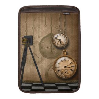 Vintage Clocks Camera Steampunk Macbook Air Sleeve