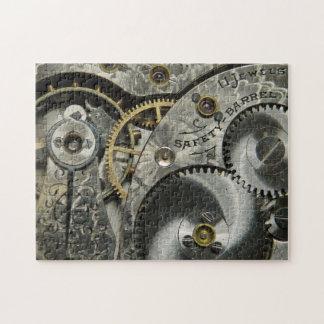 Vintage Clockwork Puzzle