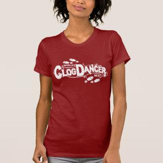Vintage Clog Dancer Clogging Shoes Tshirt