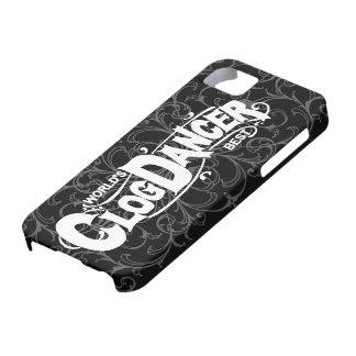 Vintage Clog Dancer Clogging White iPhone SE/5/5s Case