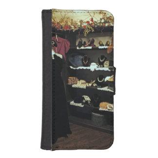 Vintage Closet Wallet Phone Case For iPhone SE/5/5s
