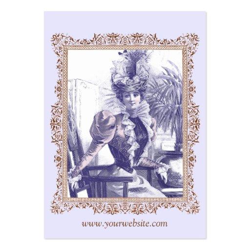 vintage clothing boutique costume designer business card
