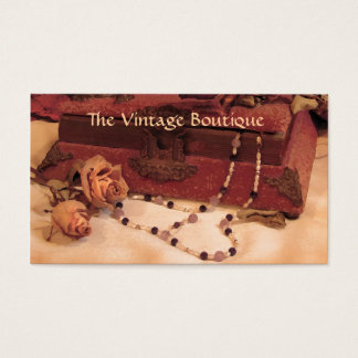 Vintage Clothing Business Card