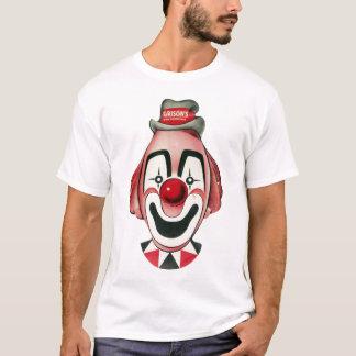 Vintage Clown Mask Illustration T-Shirt