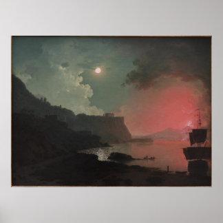 Vintage Coast Sunset Print