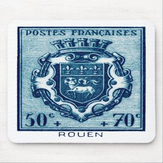 Vintage Coat of Arms Rennes, France Mousepads