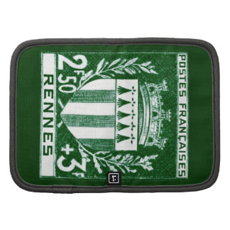 Vintage Coat of Arms Rennes, France Planners