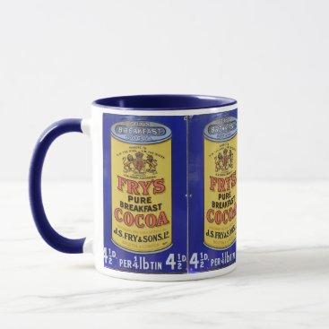 Coffee Themed Vintage Cocoa Ad Hot Chocolate Mug