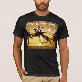 Vintage Coconut Tree Mombasa Raha Tee Shirt