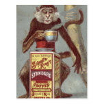 Vintage Coffee Ad Postcard