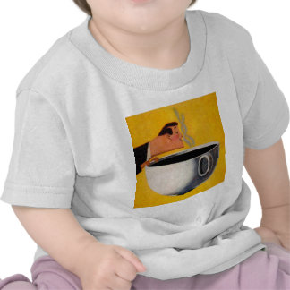 Vintage Coffee Advertisement Baby T-Shirt