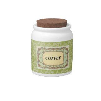 Vintage Coffee Candy Jar