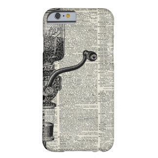 Vintage Coffee Grinder Barely There iPhone 6 Case