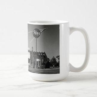 Vintage Coffee Shop Photo Drinking Mug