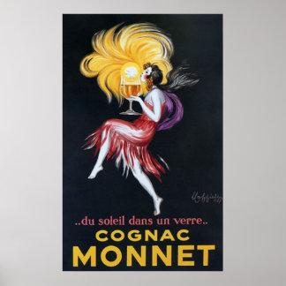 Vintage Cognac Poster