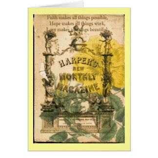 Vintage Collage Card