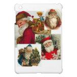 Vintage Collage Santa iPad Mini Cover