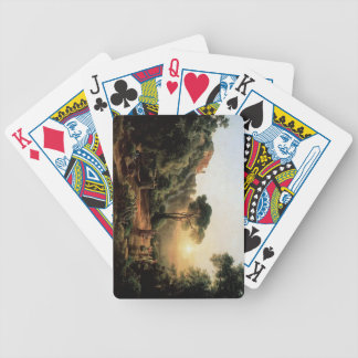 Vintage Collection - Landscape Painting Bicycle Playing Cards