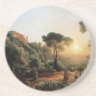 Vintage Collection - Landscape Painting Drink Coaster