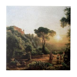 Vintage Collection - Landscape Painting Tile
