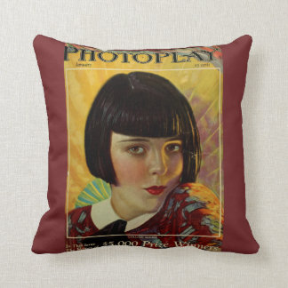 Vintage Colleen Moore Accent Pillow