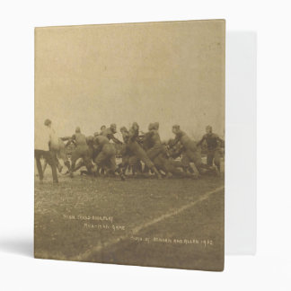 Vintage College Football Game from 1902 3 Ring Binder