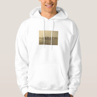 Vintage College Football Game from 1902 Hoodie