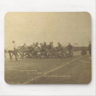 Vintage College Football Game from 1902 Mouse Pad