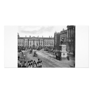 Vintage College Green, Trinity College, Dublin Card