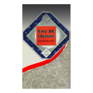 Vintage Cologne Poster Business Card