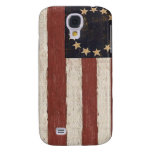 Vintage Colonial American Flag Galaxy S4 Covers