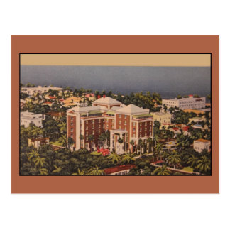 Vintage Colony Hotel, Palm Beach FL Postcard