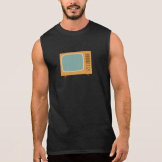 Vintage Color Television Sleeveless Shirt
