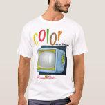 Vintage Color TV Ad Europe T-Shirt