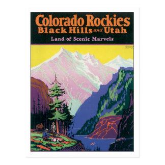 Vintage Colorado Black Hills Post Card