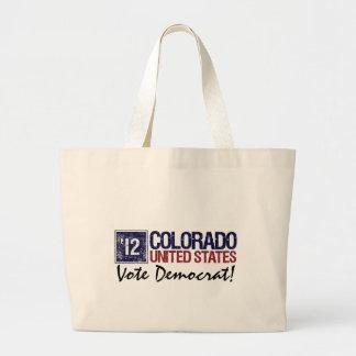 Vintage Colorado de Demócrata del voto en 2012 - Bolsas
