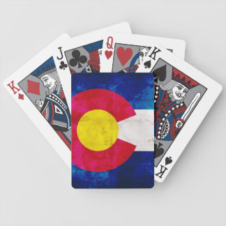 Vintage Colorado Flag Playing Cards