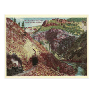 Vintage Colorado Mine Postcard
