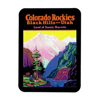 Vintage Colorado Magnet