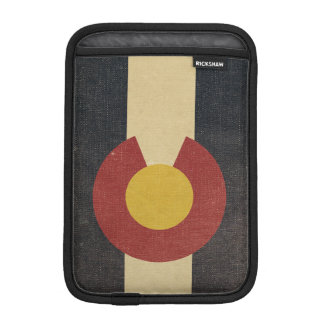 Vintage Colorado State Flag Sleeve For iPad Mini