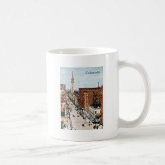 Vintage Colorado Street Scene Coffee Mug