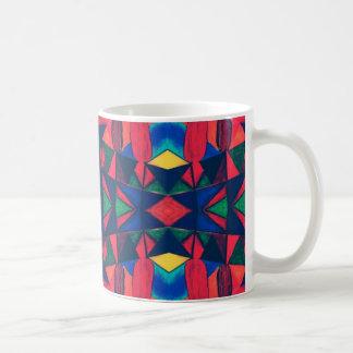 Vintage Colorful Aztec Design Coffee Mug