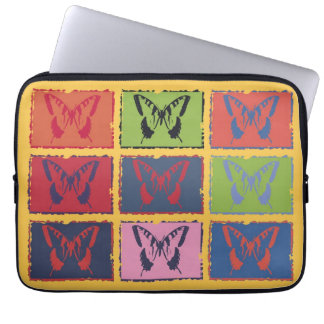 Vintage Colorful Butterfly Fine Art Computer Sleeve