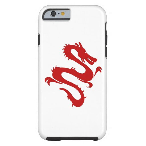 Vintage Colorful Dragon Tough iPhone 6 Case