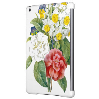 vintage colorful  flowers by Redoute. Cover For iPad Air