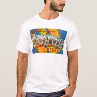 Vintage Colorful Greetings From Cincinnati Ohio T-Shirt