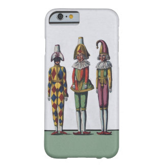 Vintage Colorful Whimsical Three Jester Dolls Barely There iPhone 6 Case