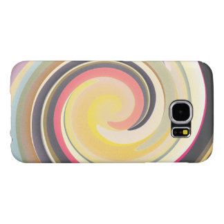 Vintage Colors In Curves Samsung Galaxy S6 Cases