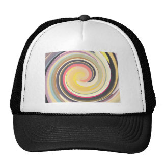 Vintage Colors In Curves Trucker Hat